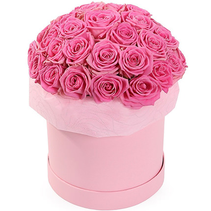 "Flowers in box ""Fashionable style""  - buy in Ukraine"