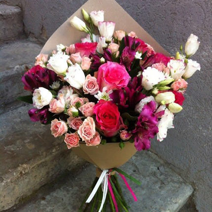 "Bouquet ""Romantic sunset""  - buy in Ukraine"