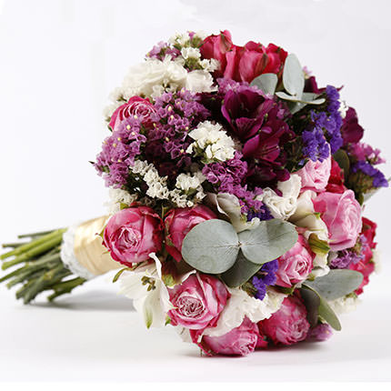 "Bridal bouquet ""Bright Wedding""  - buy in Ukraine"