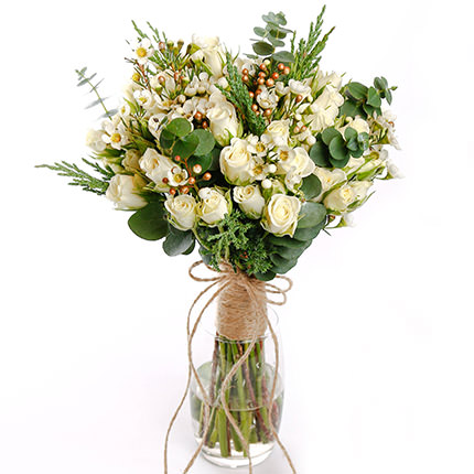 "Bridal bouquet ""Embodiment of tenderness""  - buy in Ukraine"