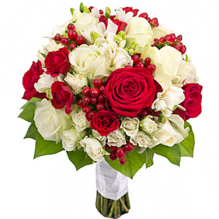 "Bridal bouquet ""Classic style""  - buy in Ukraine"