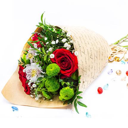 Сборный букет цветов  - купить в Украине