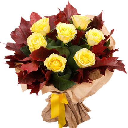 "Bouquet ""Crimson Sunset""  - buy in Ukraine"