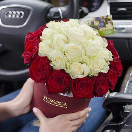 "Flowers in a box ""Prestige!""  - buy in Ukraine"