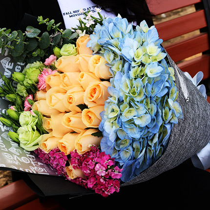 "Bouquet ""I'm with you ...""  - buy in Ukraine"