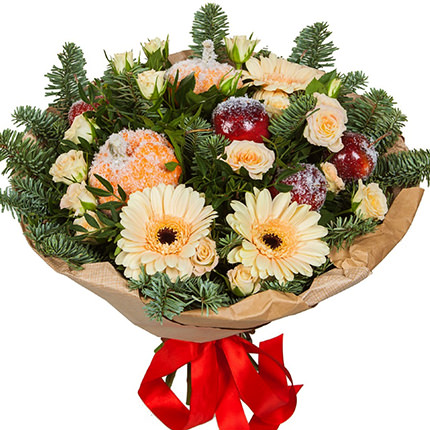 """Bouquet """"Surprise for the New Year""""  - buy in Ukraine"""