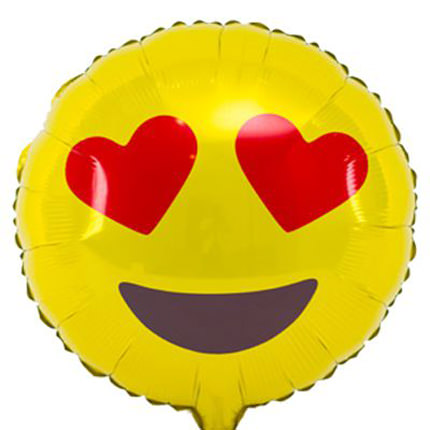 "Foil balloon ""Smiley in Love""  - buy in Ukraine"