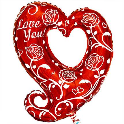 "Foil balloon ""Heart for the beloved""  - buy in Ukraine"