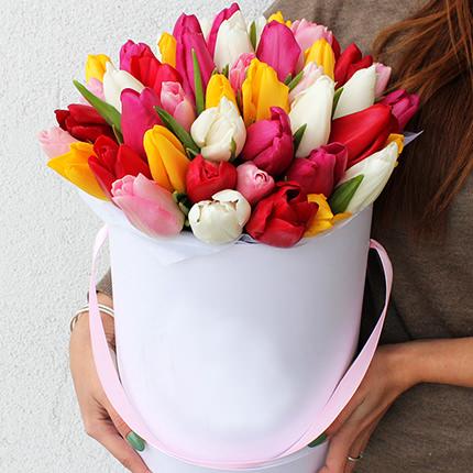"""Квіти в коробці """"Жіночий день!""""  - придбати в Україні"""