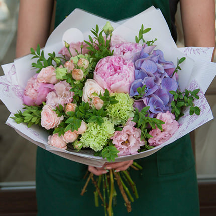 """Bouquet """"For the most gentle and beloved!""""  - buy in Ukraine"""