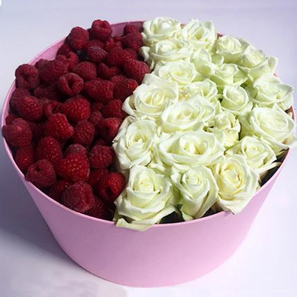 "Composition ""Raspberry dessert""  - buy in Ukraine"