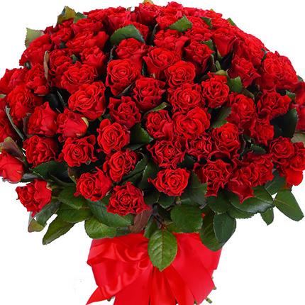 """Букет """"101 красная роза Эль Торо""""  - купить в Украине"""
