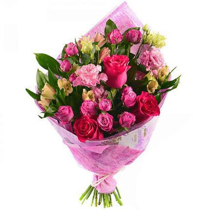 "Bright bouquet ""Romantic mood""  - buy in Ukraine"