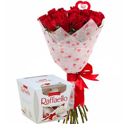Bouquet from St. Valentine!  - buy in Ukraine