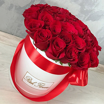 """Цветы в коробке """"Love You!""""  - купить в Украине"""