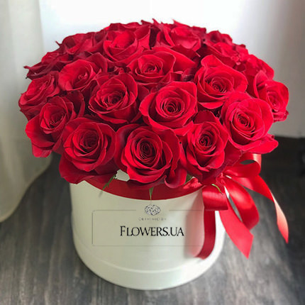 "Flowers in box ""Love You!!!""  - buy in Ukraine"