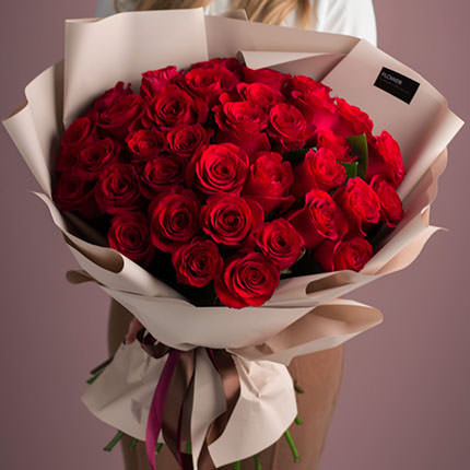 "Bouquet ""35 red roses""  - buy in Ukraine"