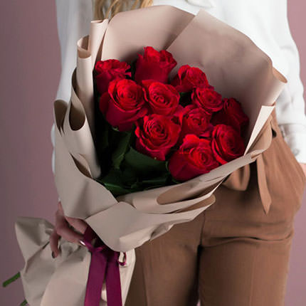 "Bouquet ""11 red roses""  - buy in Ukraine"