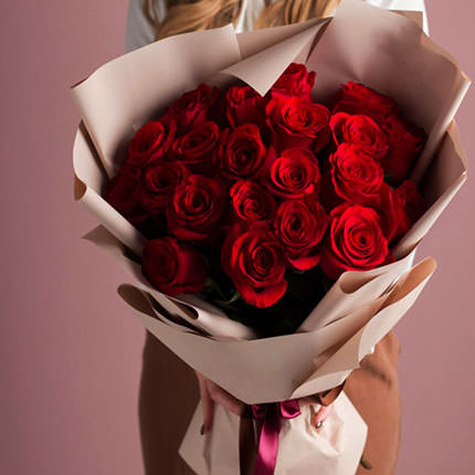 "Bouquet ""21 red roses""  - buy in Ukraine"