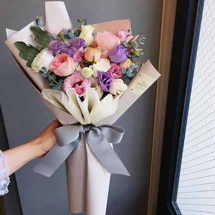 "Bouquet ""Flowers' Selfi""  - buy in Ukraine"