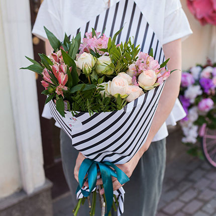 "Stylish bouquet ""Rumba""  - buy in Ukraine"