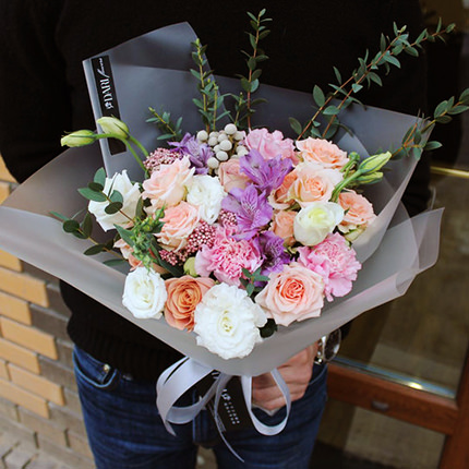 "Delicate bouquet ""My Princess"" – from Flowers.ua"