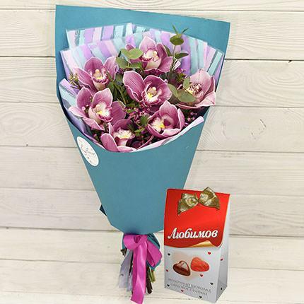 """Bouquet """"Pink Flamingo""""  - buy in Ukraine"""