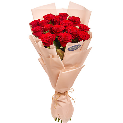 "Bouquet ""15 red roses""  - buy in Ukraine"