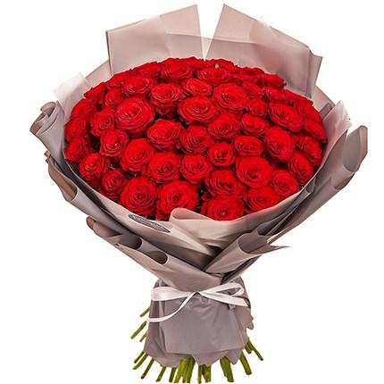"""Bouquet """"51 red roses""""  - buy in Ukraine"""