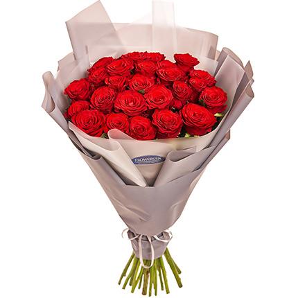 """Букет """"25 червоних троянд""""  - придбати в Україні"""