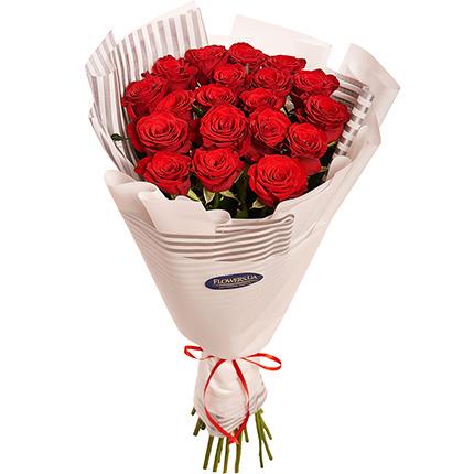 """Букет """"19 червоних троянд""""  - придбати в Україні"""