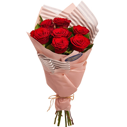 "Bouquet ""7 red roses!""  - buy in Ukraine"