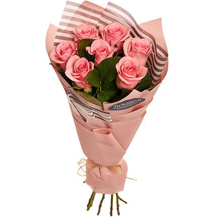 """Букет """"7 розовых роз!""""  - купить в Украине"""