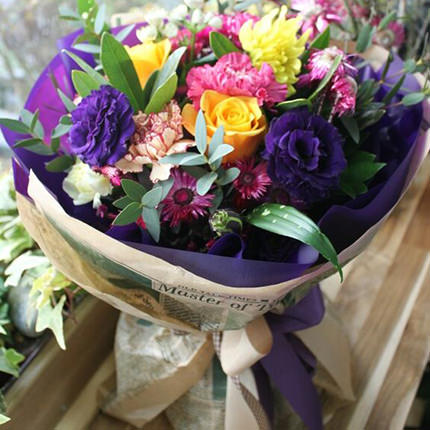 "Bouquet ""Happy time!""  - buy in Ukraine"