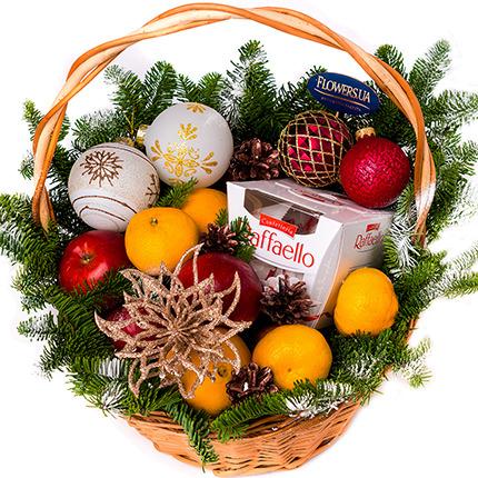 """Basket """"Winter lace!""""  - buy in Ukraine"""
