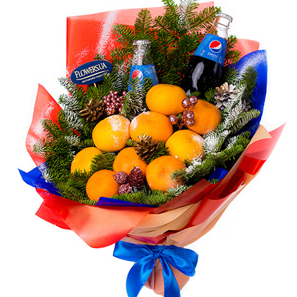 "Bouquet ""Tangerine Boom!""  - buy in Ukraine"