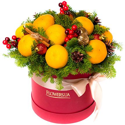 """Композиція в коробці """"Jingle Bells!""""  - придбати в Україні"""