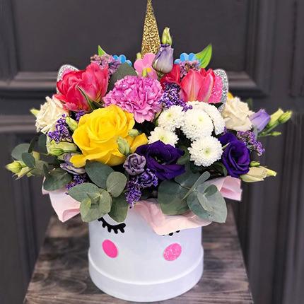 "Flowers in the box ""Magic Unicorn!""  - buy in Ukraine"