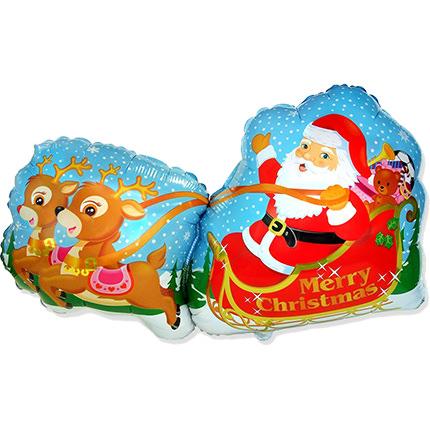"""Шарик """"Дед мороз!""""  - купить в Украине"""