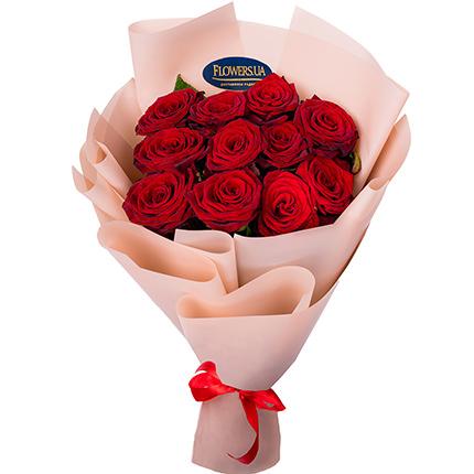 Bouquet of 11 red roses  - buy in Ukraine