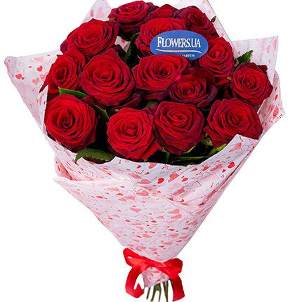 Bouquet from St. Valentine!  - buy in Ukraine