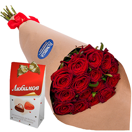 "Bouquet ""Sweet taste of love!""  - buy in Ukraine"