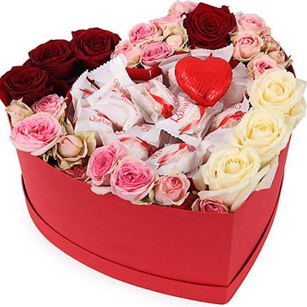 "Flowers in a box ""My love!""  - buy in Ukraine"