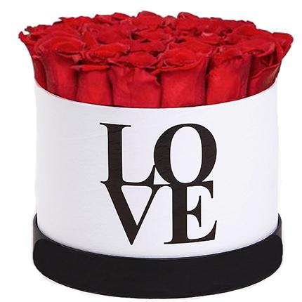 """Цветы в коробке """"LOVE""""  - купить в Украине"""