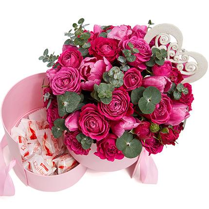 """Flowers in a box """"Delight!""""  - buy in Ukraine"""