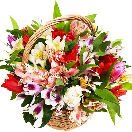 "Basket ""Feast of Love!"" – from Flowers.ua"