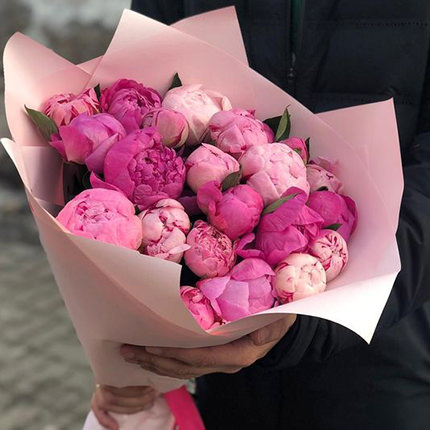 19 tender peonies  - buy in Ukraine