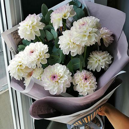 "Bouquet ""11 dahlias""  - buy in Ukraine"