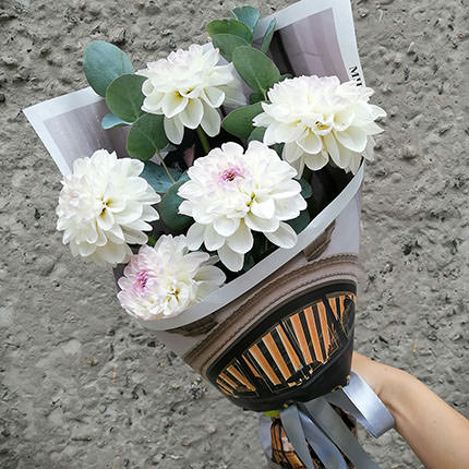 "Bouquet ""5 dahlias""  - buy in Ukraine"