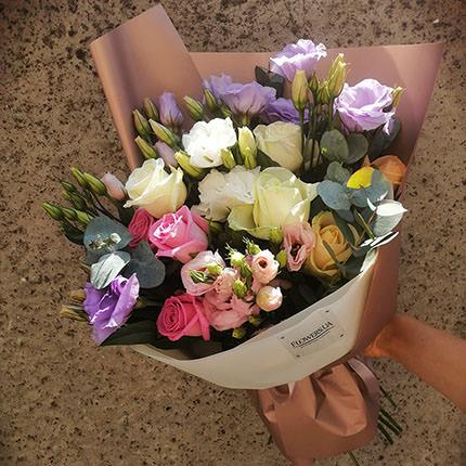 """Author's bouquet """"Flower Selfie""""  - buy in Ukraine"""